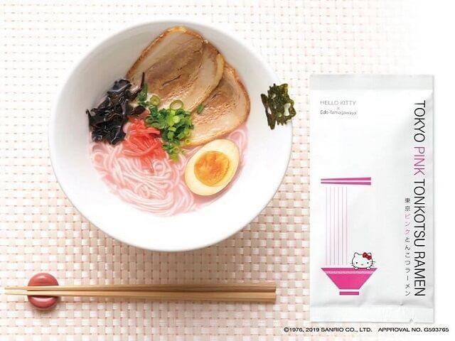 Tokyo Pink Tonkotsu Ramen