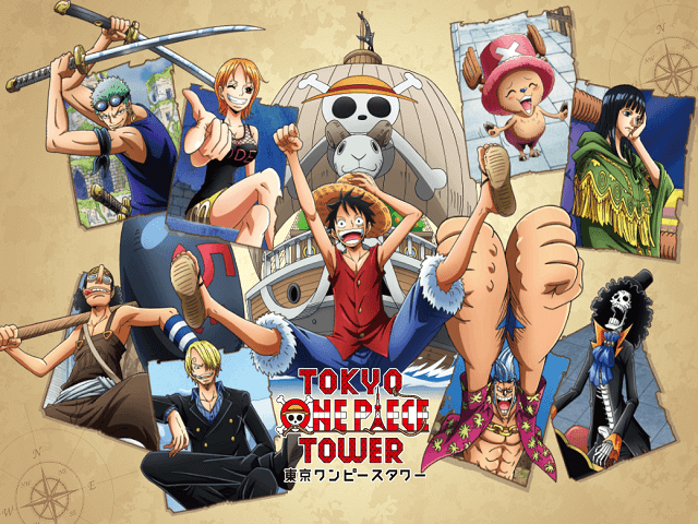 Tokyo One Piece Tower Cruise History Event