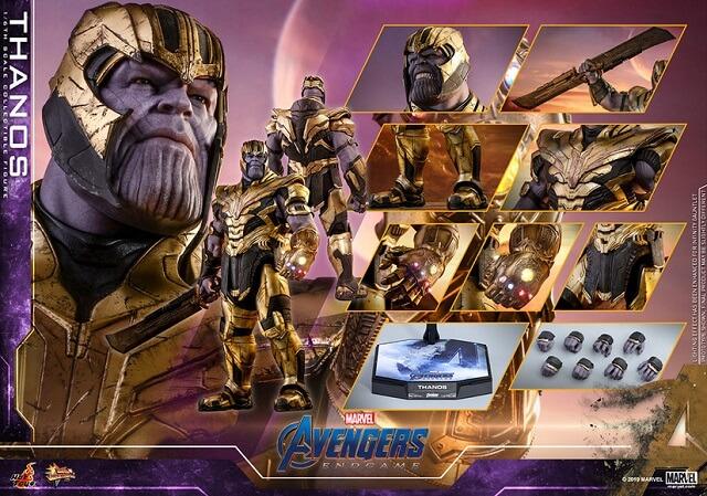 Taro's Japan Tour Adventures: Endgame Thanos Japan-Exclusive 1/6th Figure