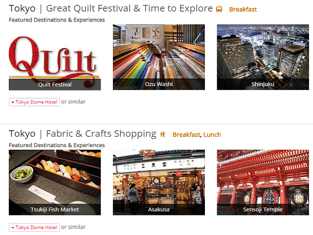 New Quilt Itineraries Coming Soon!