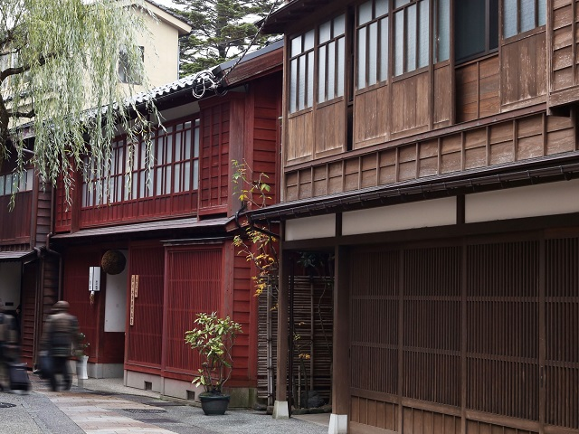 Preserved Tea House District | Kanazawa
