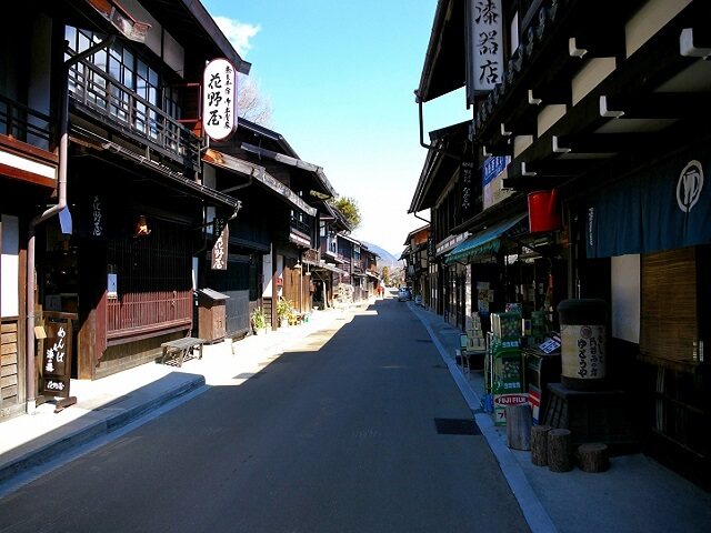 Well-Preserved, Traditional Port-Town | Nagano