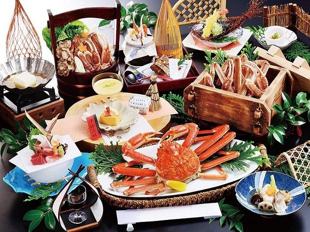 Seasonal Specialties<br>Luxury Ryokan Vacation