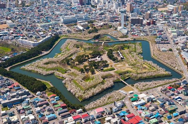 Hokkaido's Star Shaped Fort