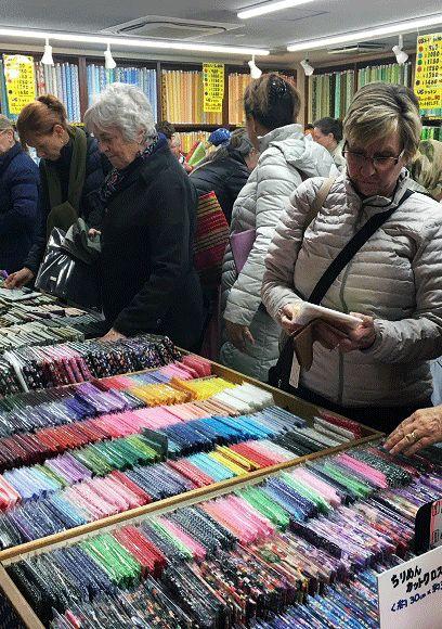 Famous Textile Shop of Nippori Textile Town