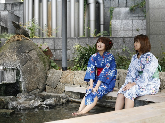 Onsen Hot Springs to Recover