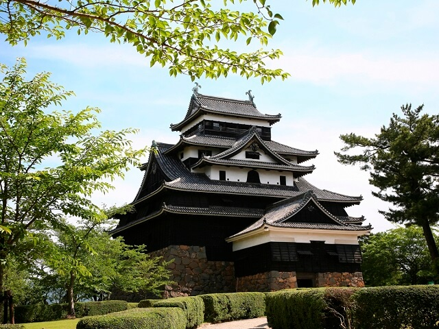 Only Original Castle in Sanin Region
