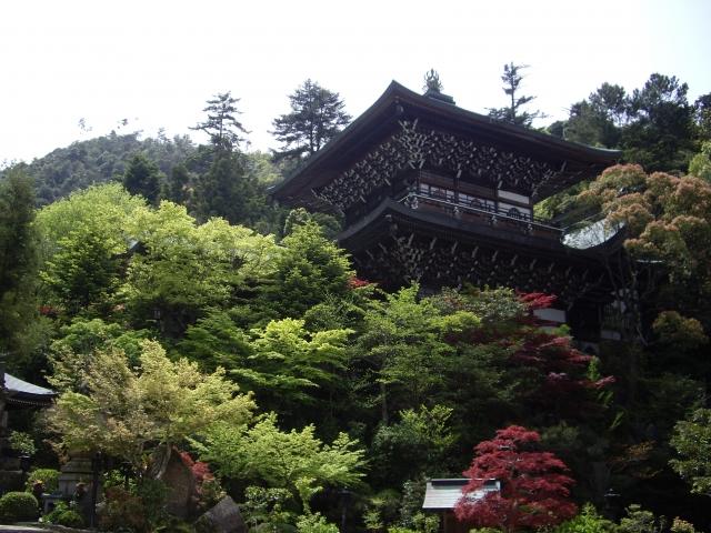 Miyajima's Oldest Japanese Temple