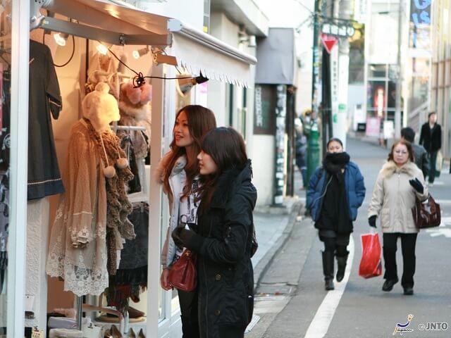 Omotesando & Takeshita Street