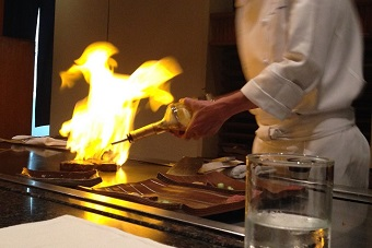 Teppan-Yaki Display
