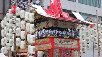 Kyoto Gion Festival Tour with Anime