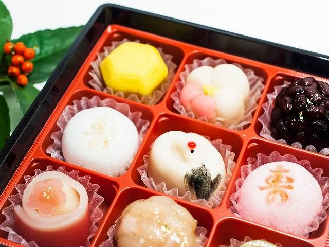 Traditional Japanese Candies<br>Wagashi