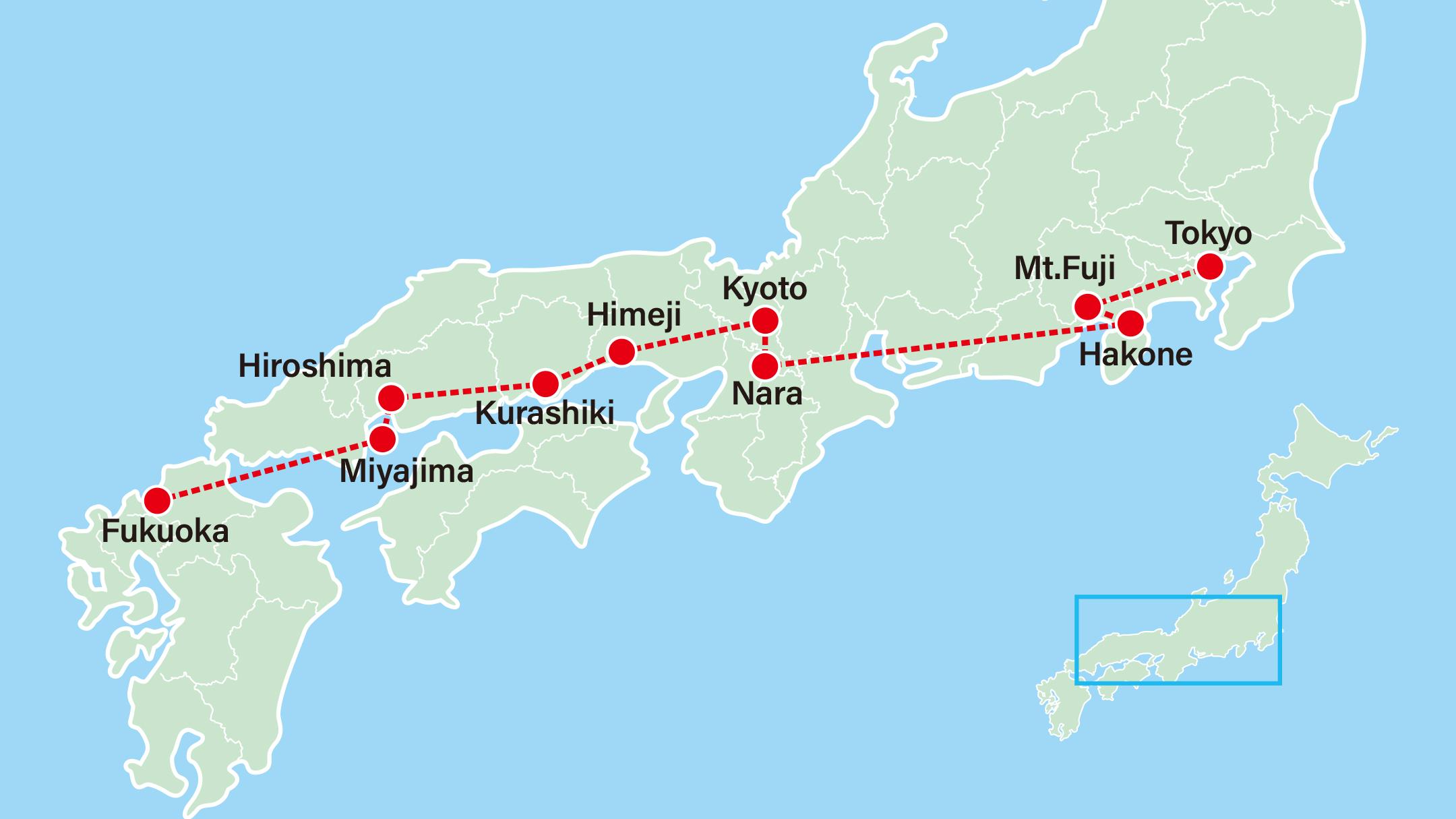Kawachi Fuji Wisteria Garden-Tokyo-Yokohama-Mt Fuji-Hakone-Nara-Kyoto-Himeji-Kurashiki-Hiroshima-Miyajima-Fukuoka