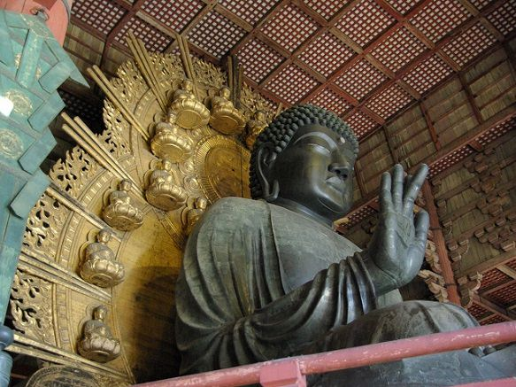 Largest Wooden Building & Bronze Buddha