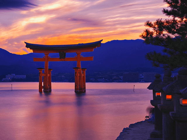 Japan's Iconic Floating Torii Gates