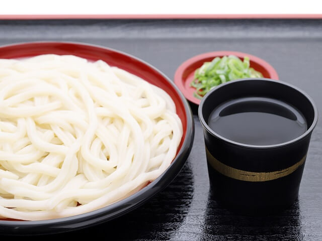 Variety of Japanese Noodles