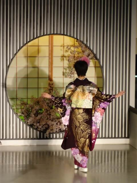 Gorgeous Kimono   Kyoto