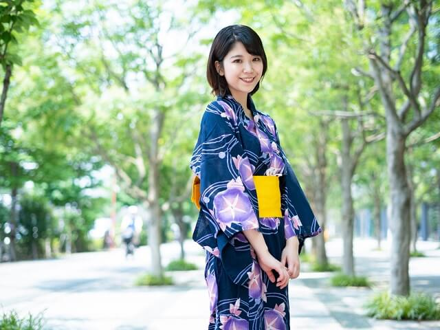 The Clothing of a Japanese Festival