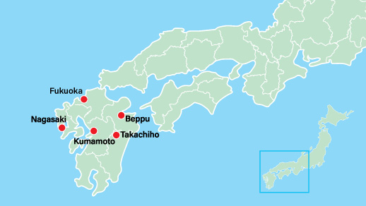 Kyushu & Shikoku-Go beyond the ordinary and extend your tour to make the most of your vacation. Our Southern Japan City add-on option gives you a look into Japanese culture and scenery that you are sure to fall in love with!
