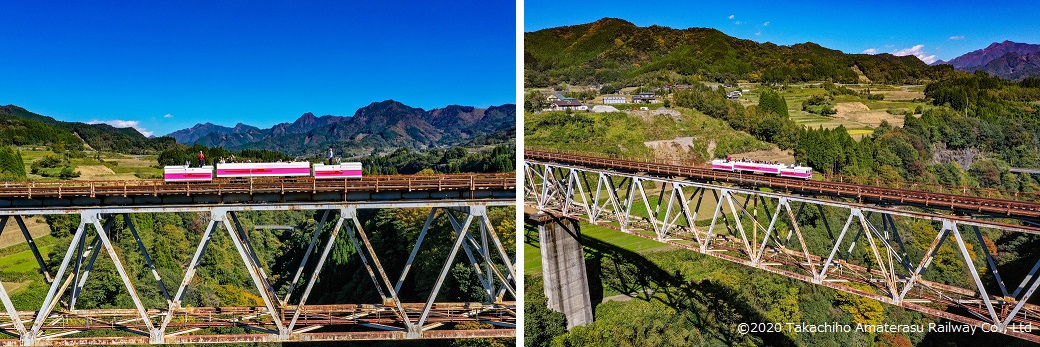 Nature, Illuminations, and the Tallest Rail Bridge in Japan