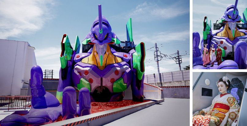 Evangelion Meets Pre-Industrial Japan (Limited Edition)