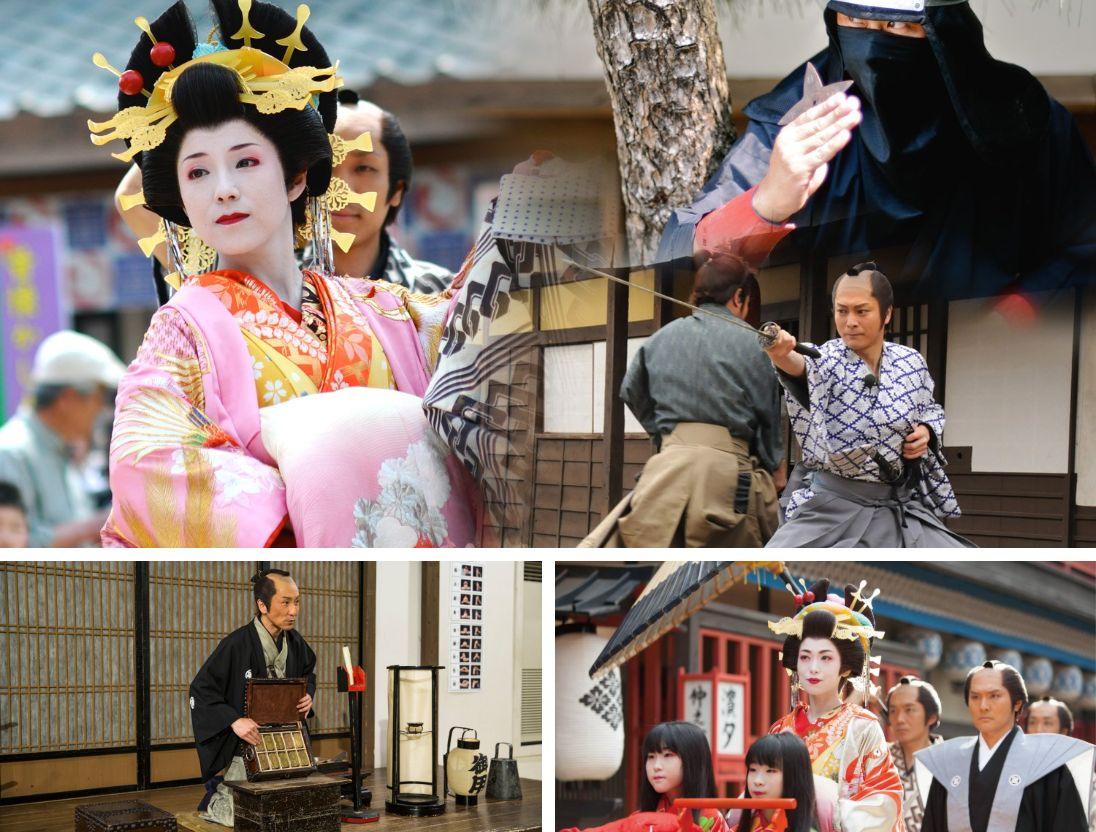 Ninja, Samurai, and Informative Attractions and Exhibits