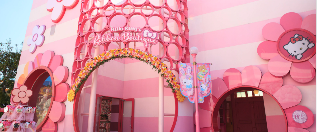 Hello Kitty Attraction and Merchandise For All Ages