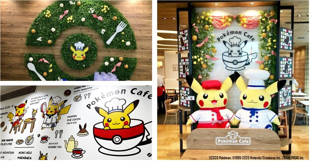 Dine With Your Favorite Pokemon at the Pokemon Cafe