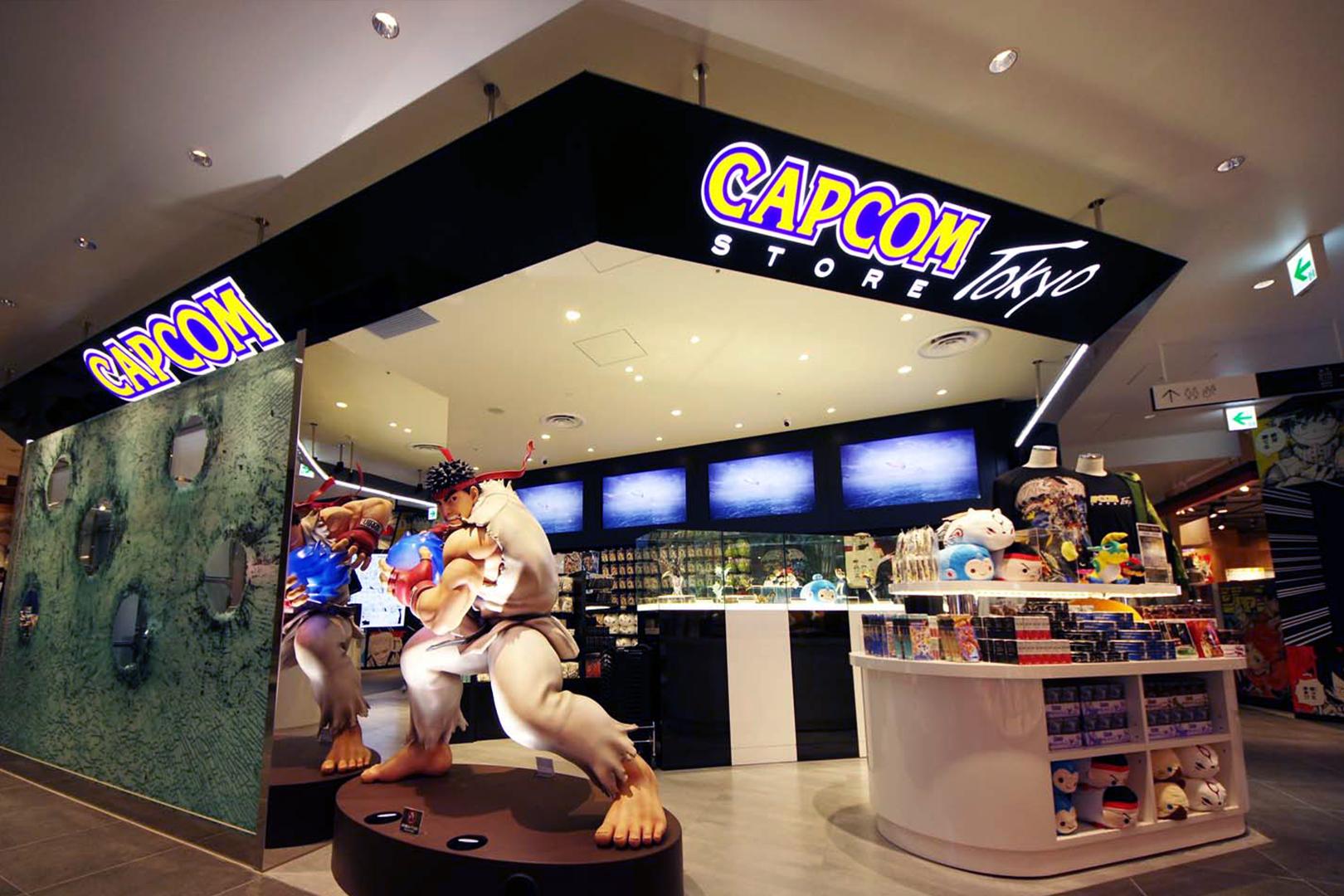 The Capcom Shopping Experience