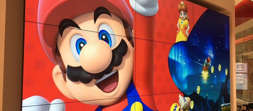 Golden Route | Anime + Mario Super World + Hello Kitty