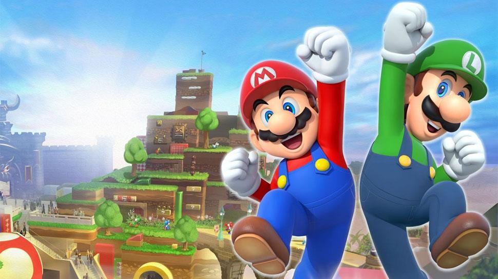 Golden Anime | Mario Nintendo World & Hello Kitty
