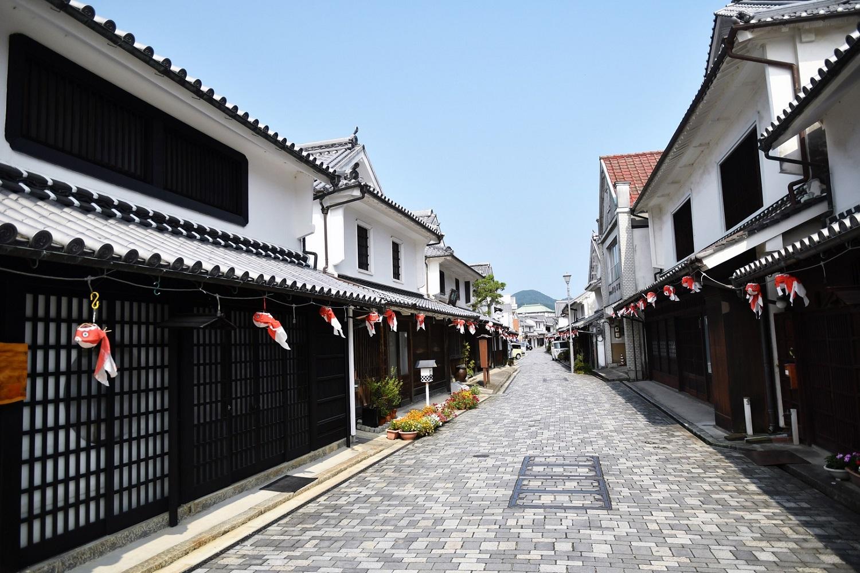 The historic town of Yanai in Yamaguchi Prefecture