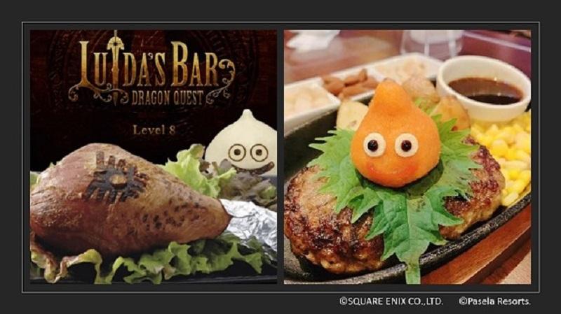 LUIDA'S BAR | Dragon Quest Themed Cafe