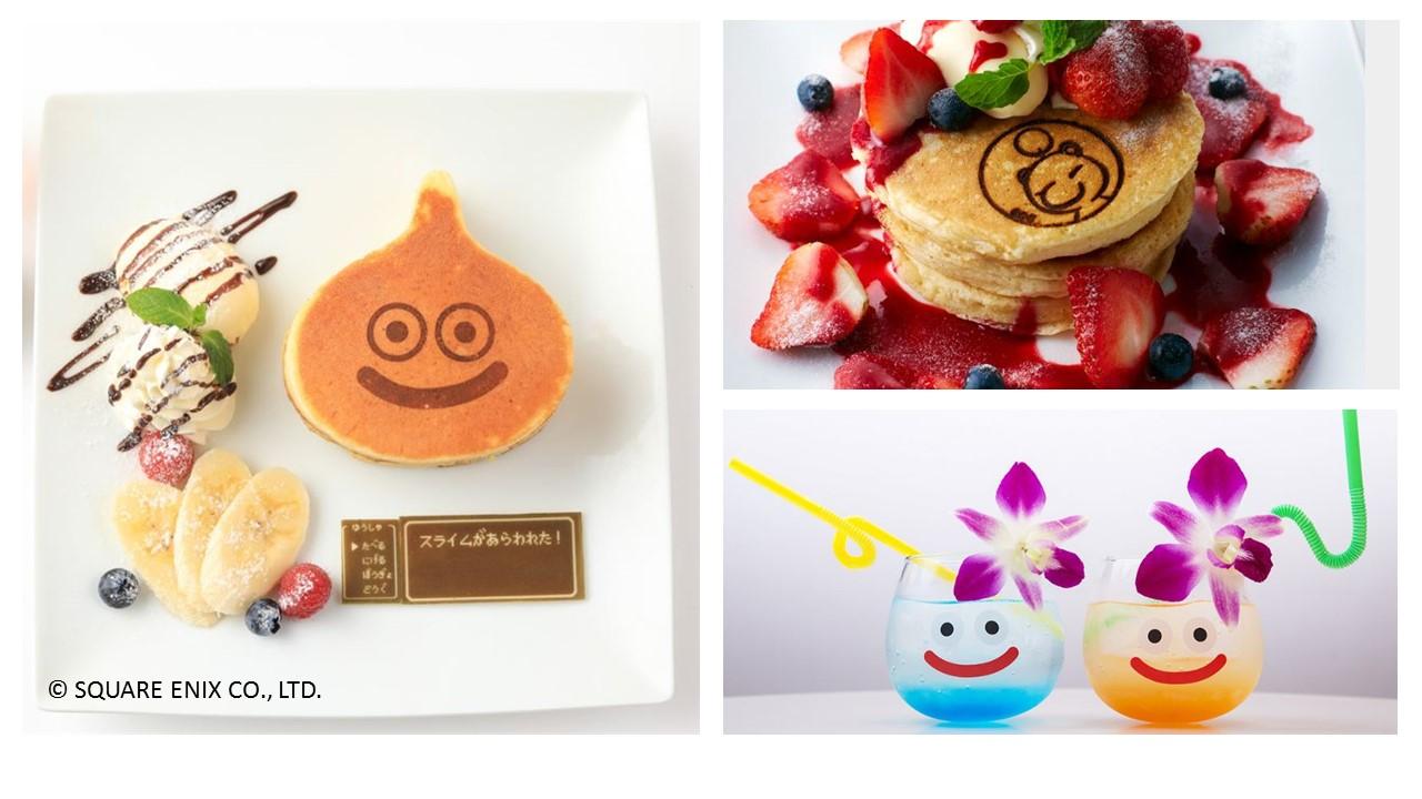 Cute Slime Monsters Food and Drinks