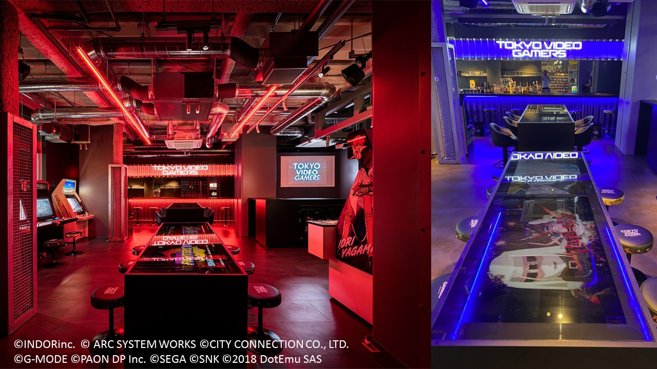 Retro Video Games-themed Bar & Restaurant